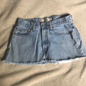Levi's miniskirt
